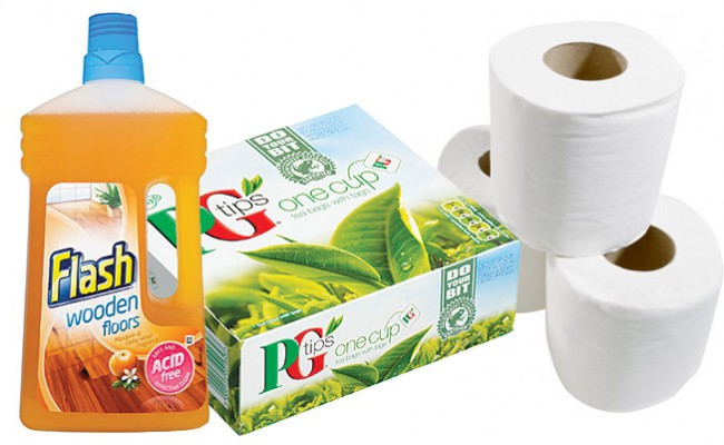 Packaging, Polish & PG Tips